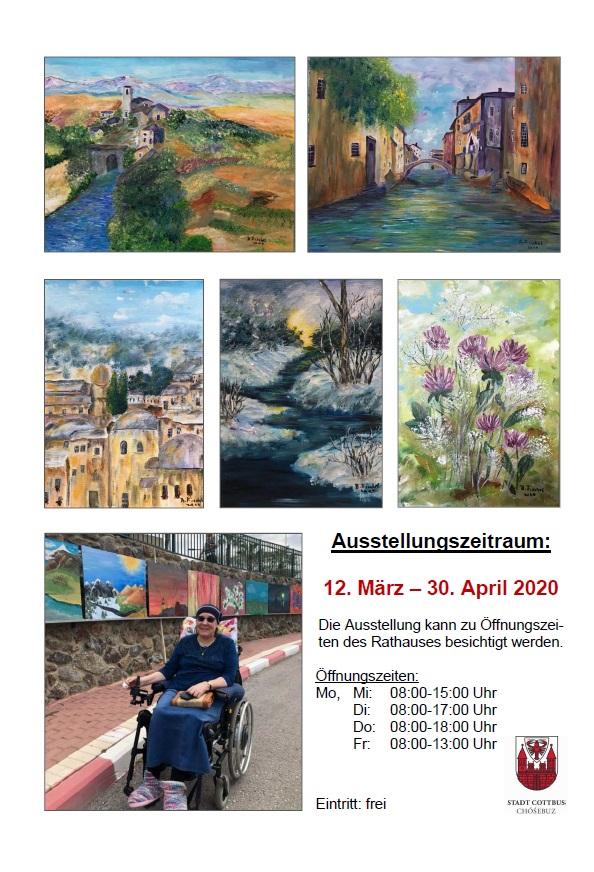 Flyer zur Ausstellung 2