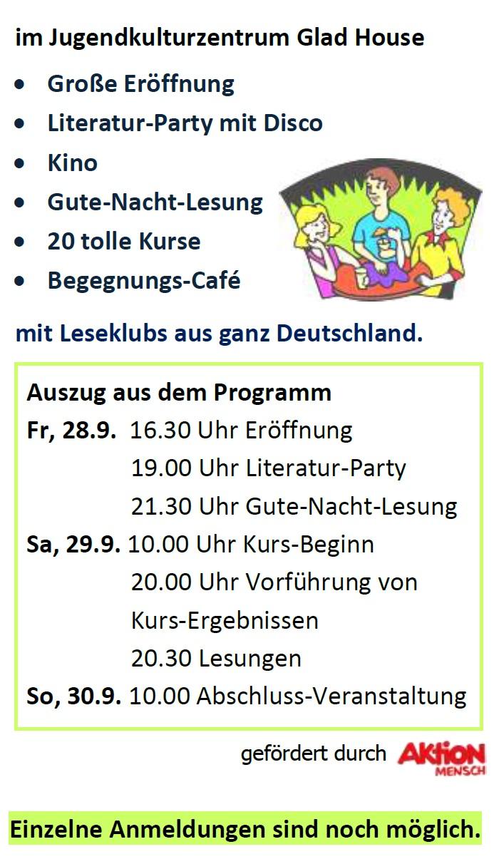 Programm LEA Literaturfest