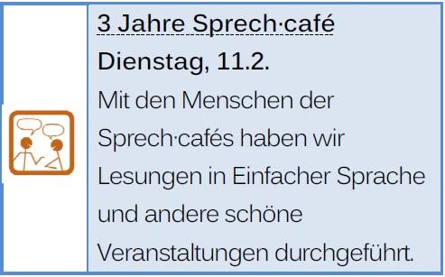 3 Jahre Sprech·café